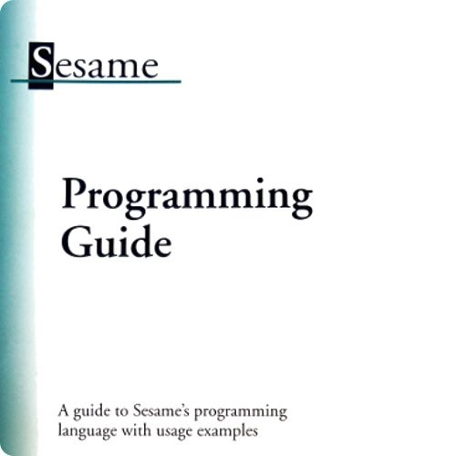 Sesame Database Manager V.2 Programming Guide